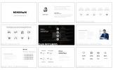 PowerPoint шаблон №64482 на тему бизнес услуги