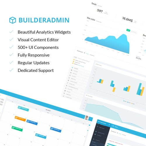Builderadmin - Admin Template based on Bootstrap