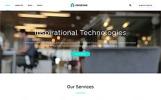 Responsive Website Vorlage für Beratung