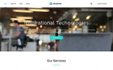 Reszponzív Effective - Development & Consulting Agency Weboldal sablon