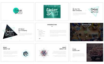 Szablon PowerPoint #64464 na temat: biznes i usługi
