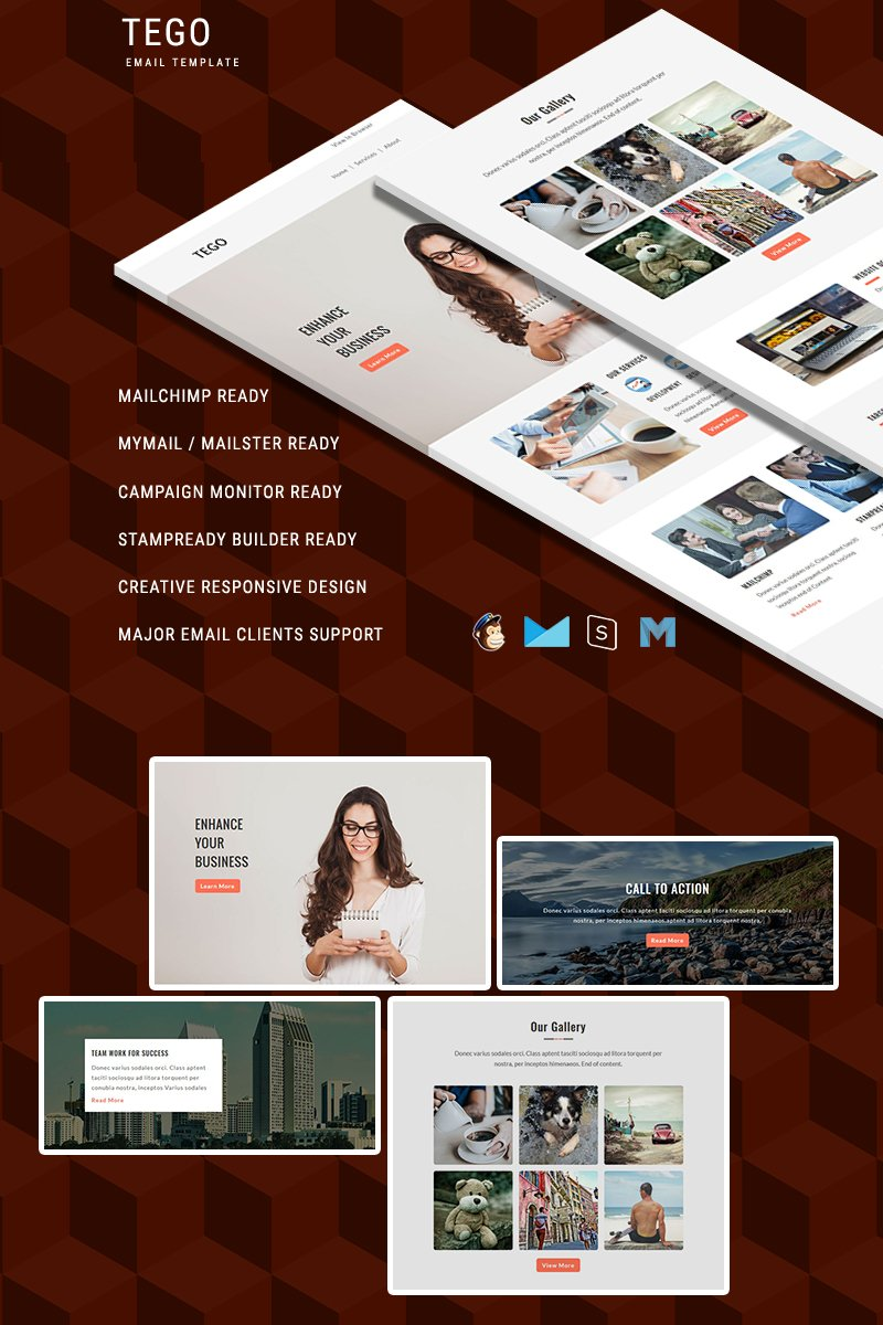Tego - Responsive Email Template №64451