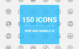 Web icons Pack Iconset Template
