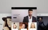 Weblium концепт сайту на тему модельне агентство