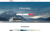 "Website Vorlage namens ""Cruise - Beautiful Cruise Company Multipage HTML"""