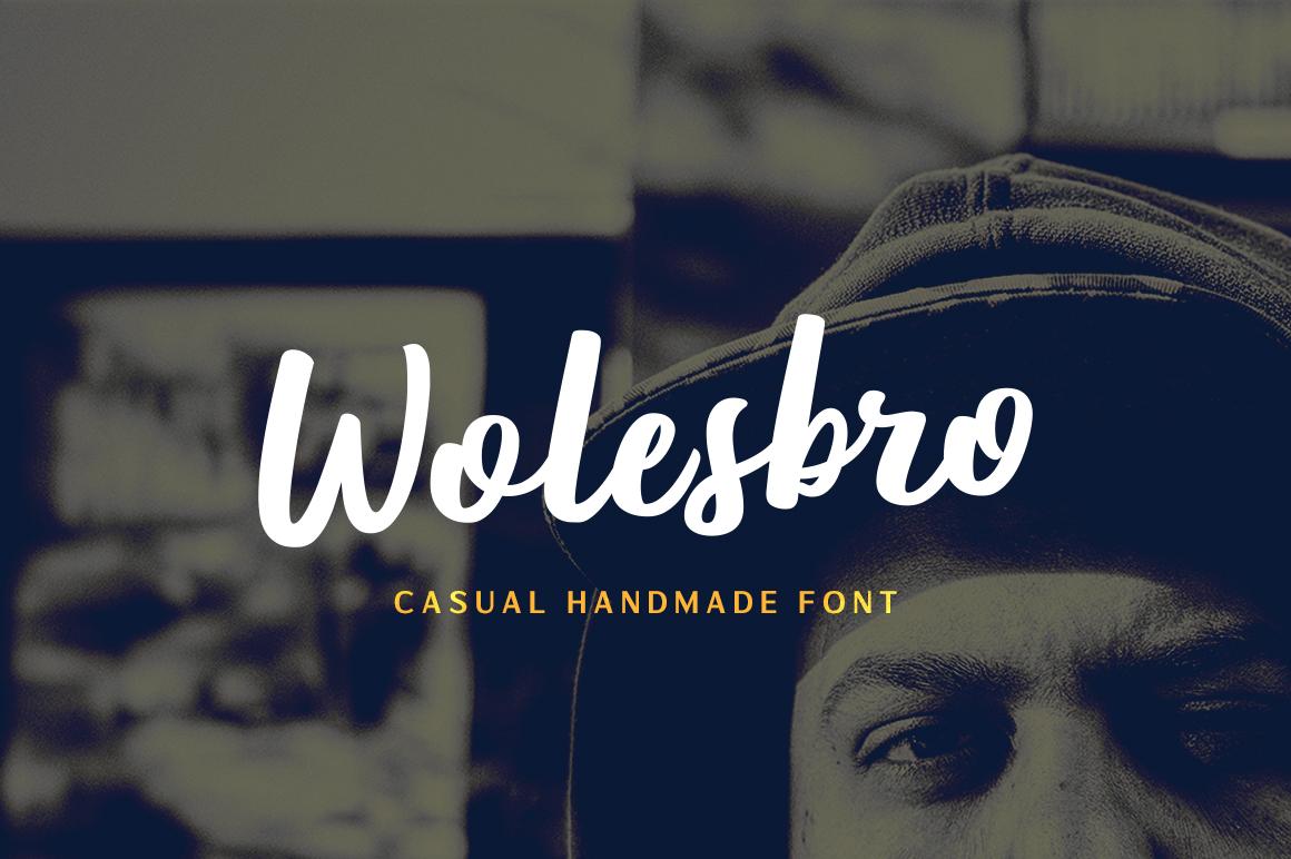 Wolesbro Font