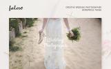 "WordPress Theme namens ""Falero Wedding Photographer"""