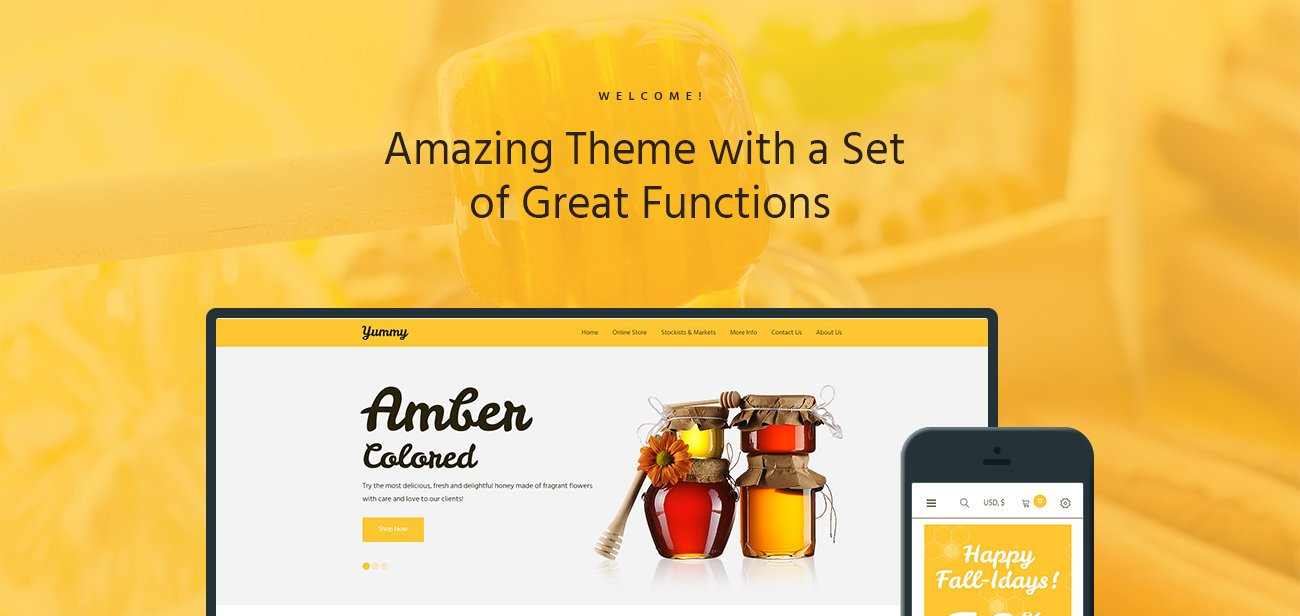 64503-1300_01 - Yummy Honey Store WooCommerce Shop Theme