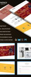 Responsivt Newsletter-mall för maknadsföringsbyrå New Screenshots BIG