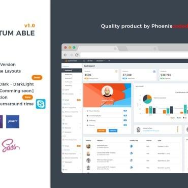 Купить  пофессиональные Admin Templates. Купить шаблон #64542 и создать сайт.