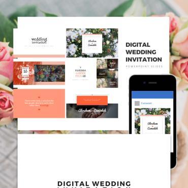 Preview image of Digital Wedding Invitation, Wedding Invitation, wedding gift