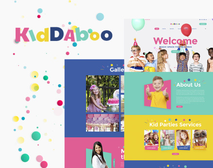 Kiddaboo - Kid Parties Services Responsive WordPress Theme