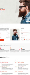 Hemsidemall för Företag & tjänster New Screenshots BIG