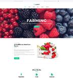 Сельское хозяйство. Шаблон сайта 64553