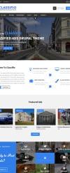 CLASSIFIO - Classified Ads Drupal Theme Drupal Template New Screenshots BIG