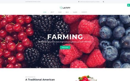 Farm Responsive Joomla Template