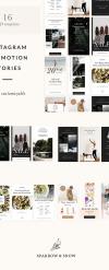 Instagram Stories Templates PSD Template New Screenshots BIG