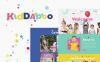 Kiddaboo - адаптивный WordPress шаблон детского центра New Screenshots BIG