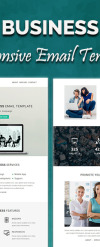 Newsletter šablona Webový Design New Screenshots BIG