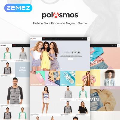 Polasmos - Fashion Store  Magento Template #64596