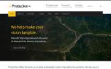 Production Pro - WordPress šablona pro průmyslovou společnost