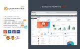 Quantum Able Responsive Bootstrap4 Admin Dashboard Template Admin Template