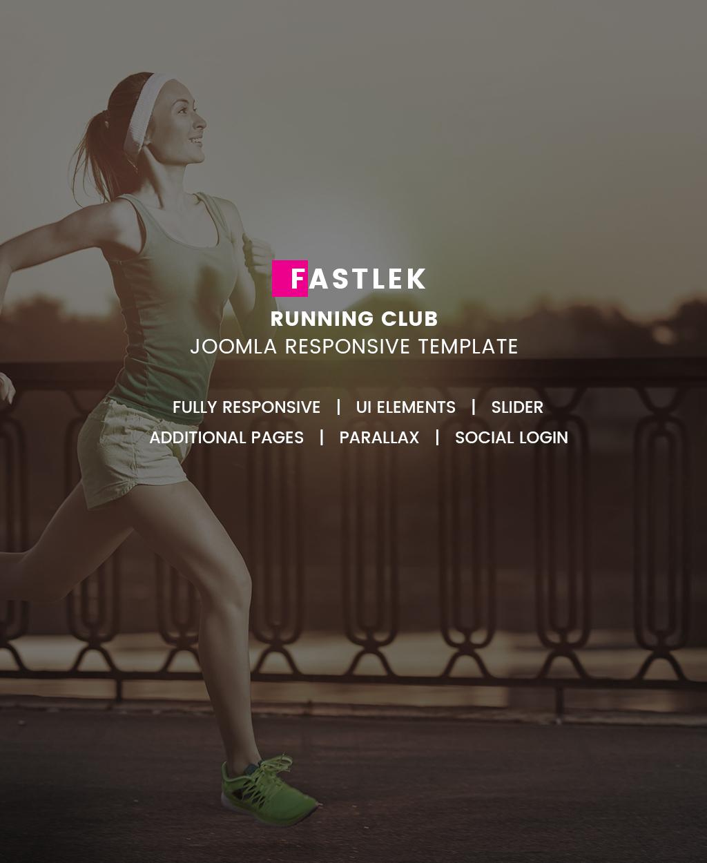 Responsywny szablon Joomla #64552 na temat: bieganie