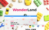 "Responzivní WooCommerce motiv ""WonderLand - Toys Store Responsive"" Smartphone Layout 1"
