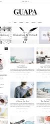Reszponzív Divatblog  WordPress sablon New Screenshots BIG