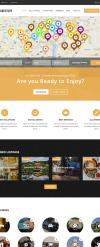 Reszponzív Üzleti szolgáltatások témakörű  Drupal sablon New Screenshots BIG