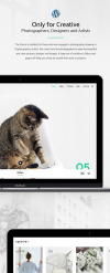 Spacer - Photography Portfolio WordPress Theme New Screenshots BIG