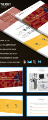 SYNERGY - Responsive Email Template Newsletter Template New Screenshots BIG