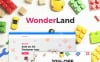 """WonderLand - Toys Store Responsive"" Responsive WooCommerce Thema Smartphone Layout 1"