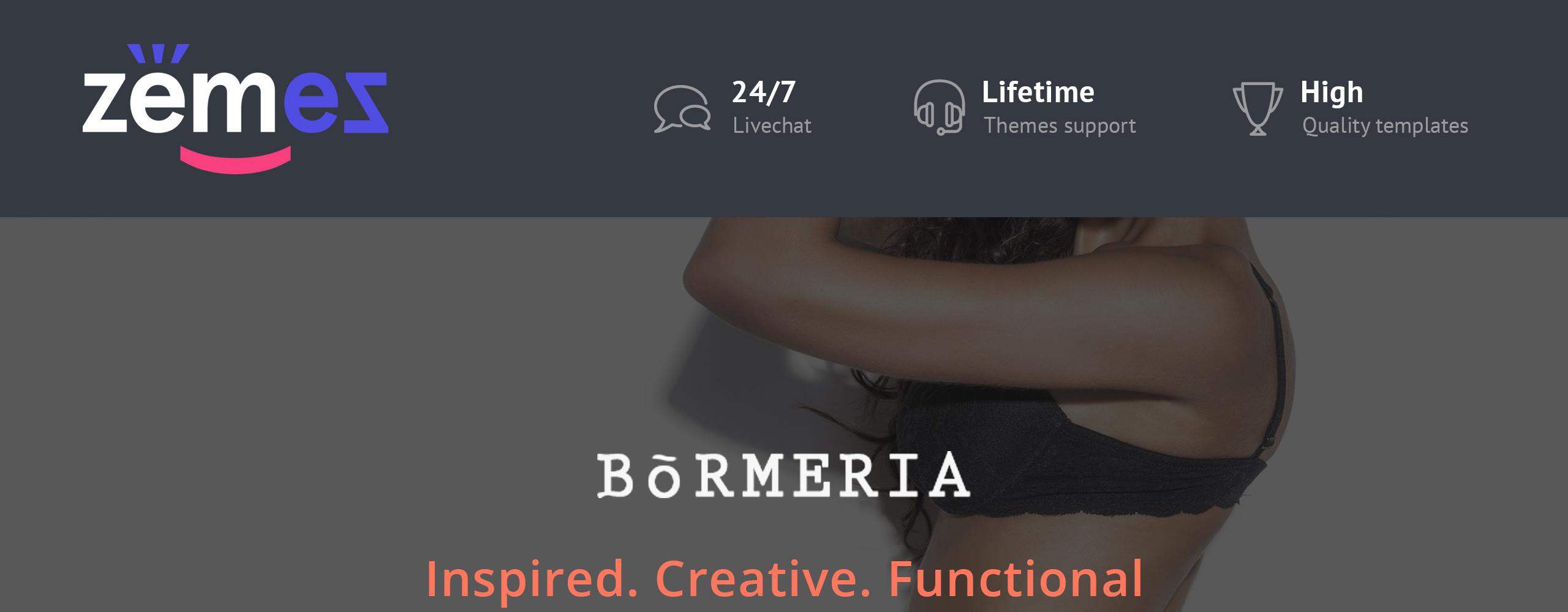 Bormeria PrestaShop Theme