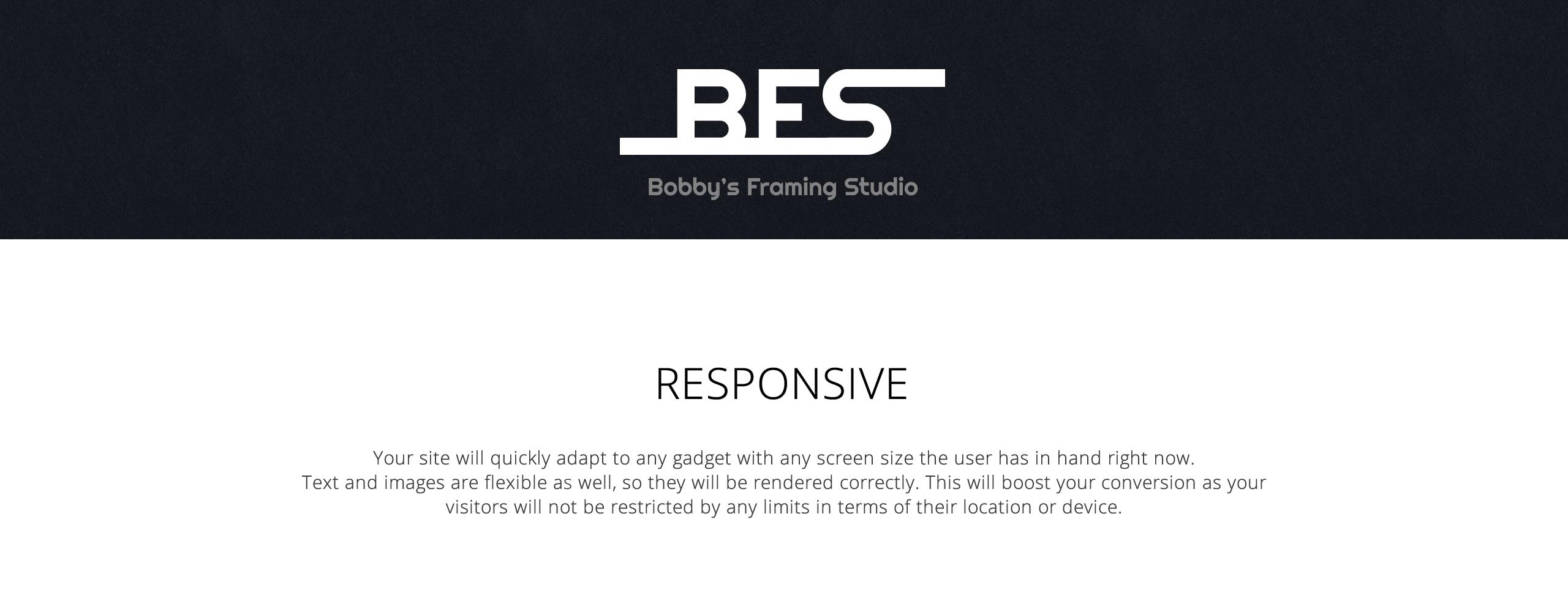 Bfs Bobbys  Responsive Joomla Template