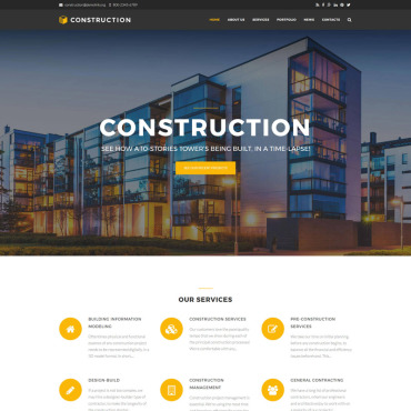 Preview image of Construction Company Premium