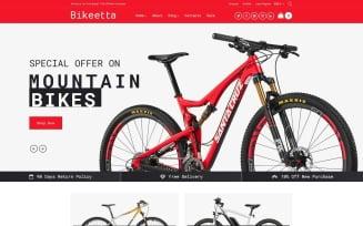 Bikeetta - Bikes Store WooCommerce Theme