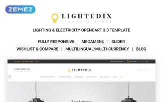 Lighting & Electricity Responsive OpenCart Template