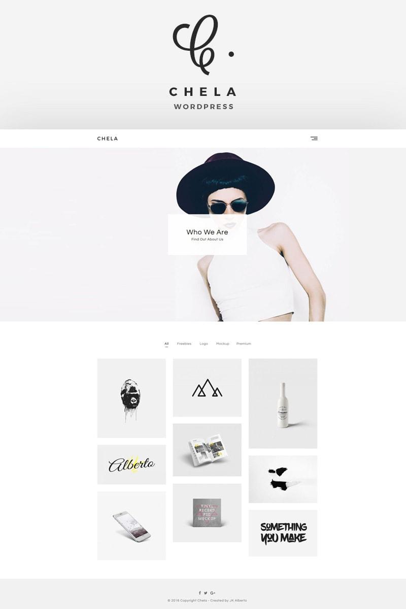 Website Template 64667 Portfolio Blog Minimal Custom Website