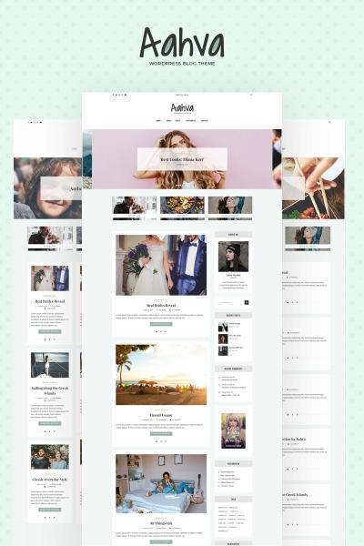 Aahva - Blogging WordPress Theme #64690
