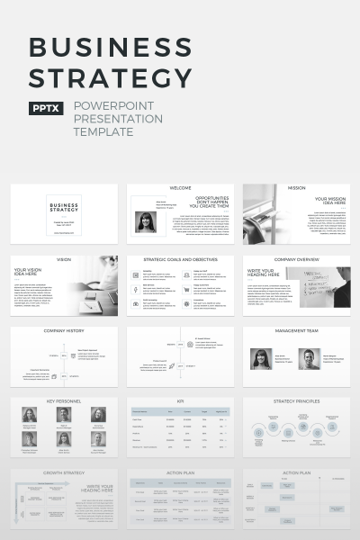 Business Strategy - Plantilla PowerPoint #64673