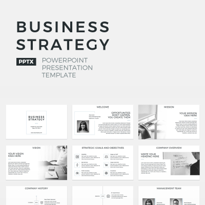 Business Strategy - Template PowerPoint #64673