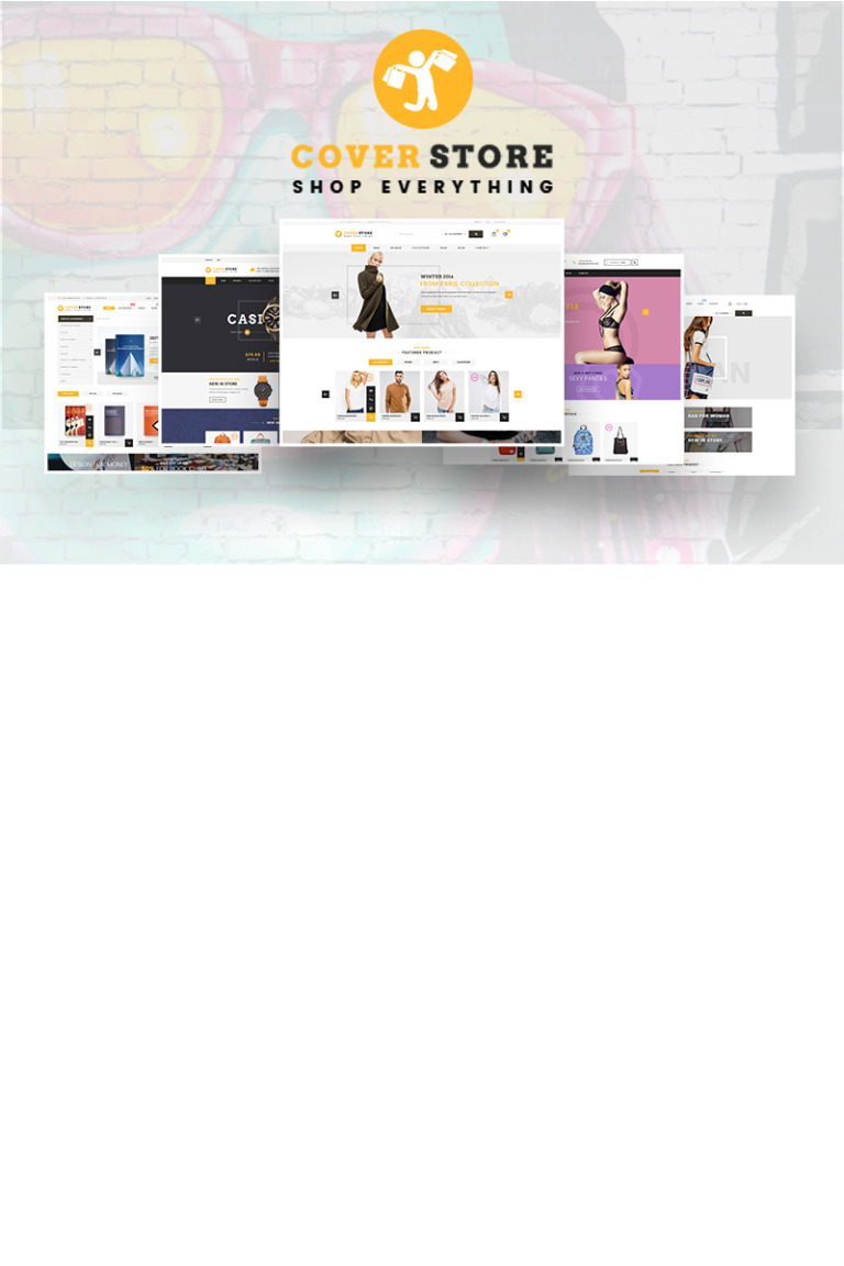 Cover Shop - Shop Everything WooCommerce Theme Big Screenshot
