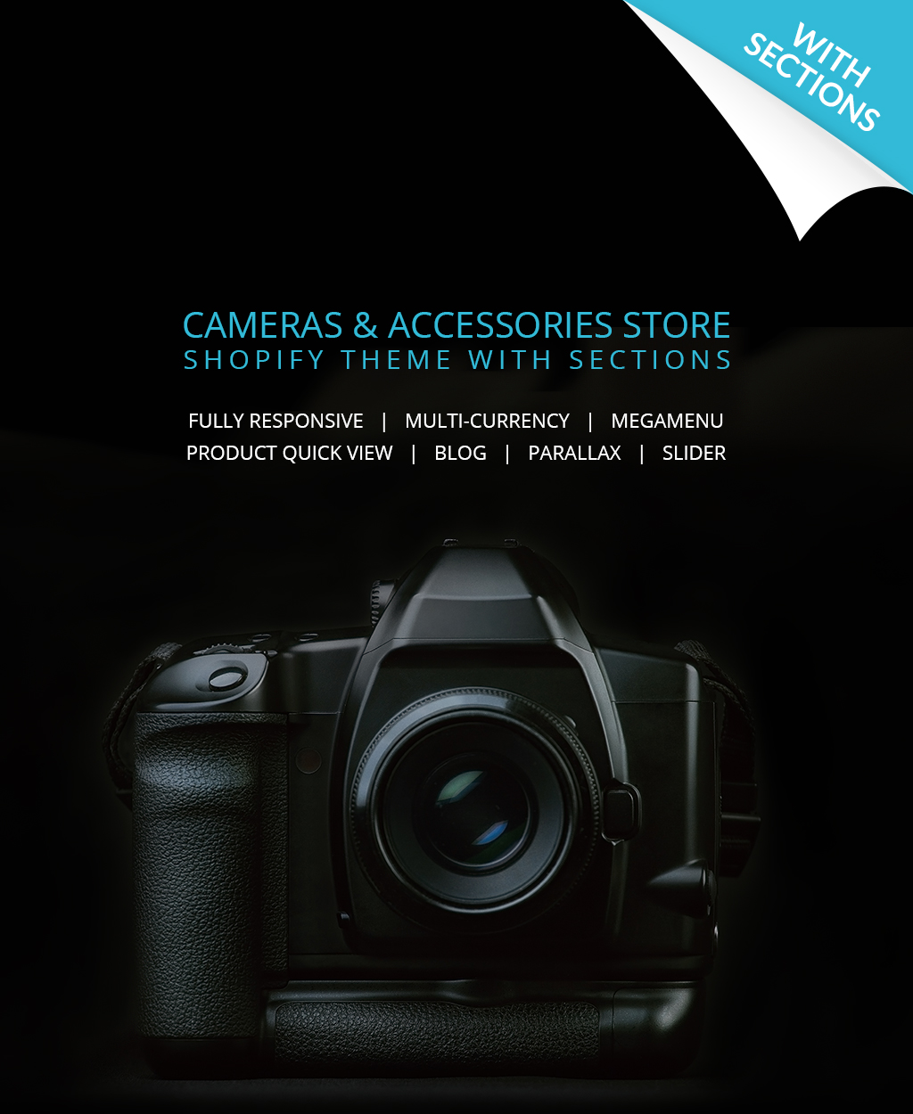 Electronics Store Responsive Shopify Theme - screenshot