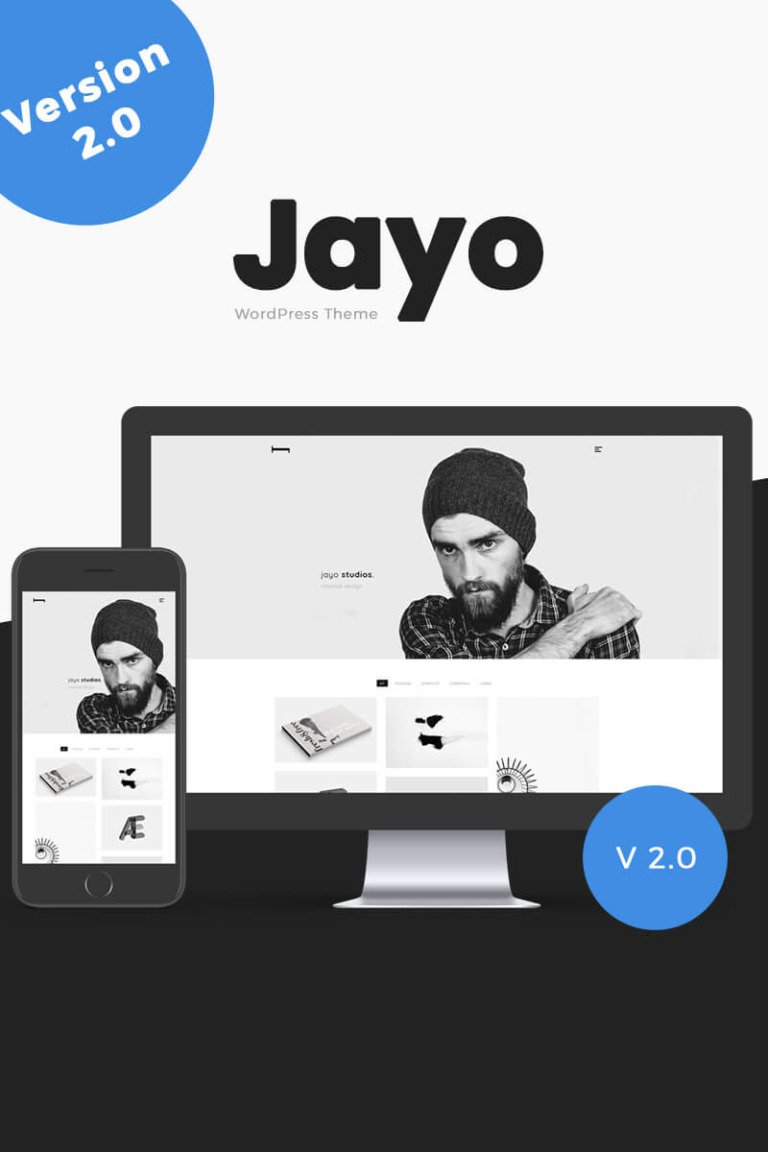 Jayo - A Freelancers & Agencies WordPress Theme New Screenshots BIG