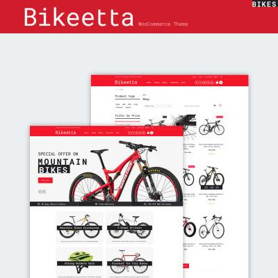 Bike Shop Responsive Tema WooCommerce