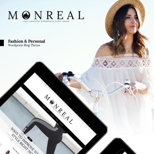 Monreal - WordPress Template based on Bootstrap