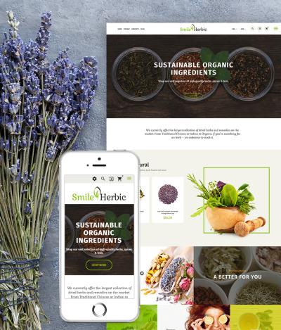Responsives PrestaShop Theme für Teeladen  #64651