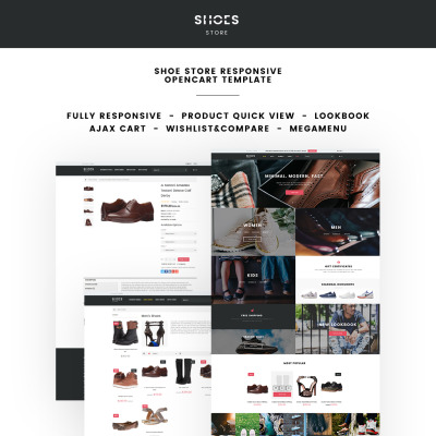 Opencart fashion templates for Opencart bookstore template