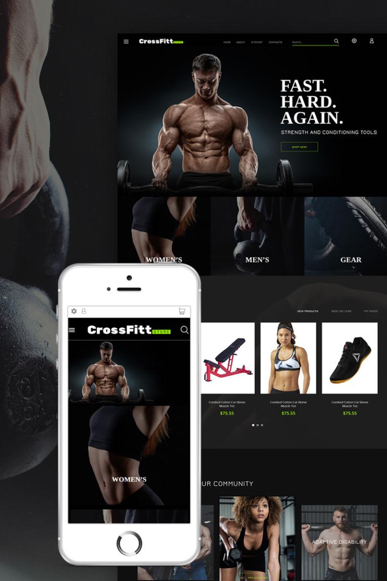 Sports Store Responsive PrestaShop Theme New Screenshots BIG
